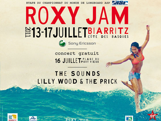 roxy jam biarritz the surf art music festival of the summer july 13th 17th 2011 get washed. Black Bedroom Furniture Sets. Home Design Ideas