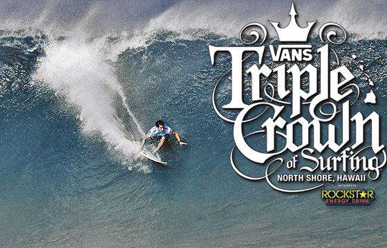 07ef339fd1 2011 Vans Triple Crown of Surfing official Website is Live