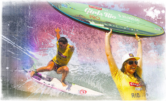 Tyler Wright Wins Colgate Plax Girls Rio Pro