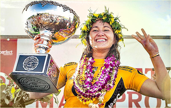 Carissa Moore Claims 2015 WSL Title