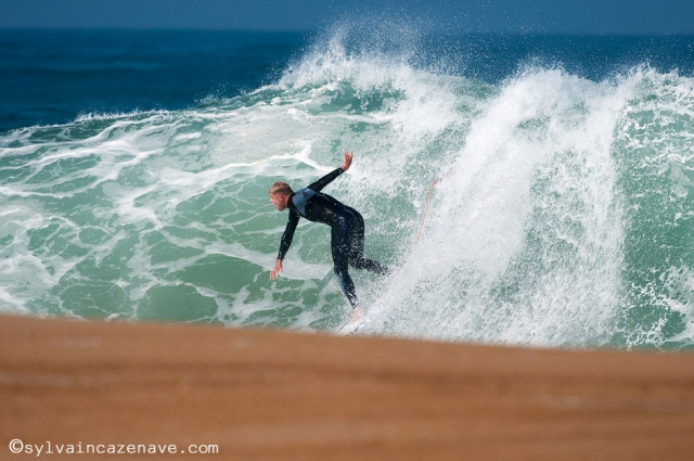 Mick Fanning at work