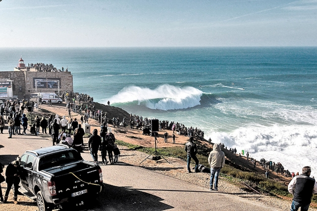 Praia do Norte, Nazaré, Portugal