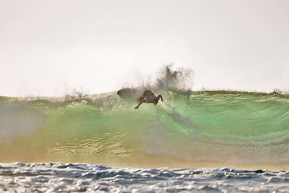 Gabriel Medina on Wave's Lip