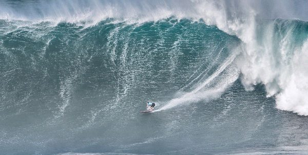 Billy Kemper will look for a third-consecutive victory at Jaws during the Big Wave Tour