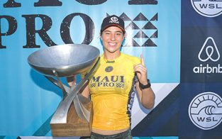Tyler Wright Wins 2017 WSL Title