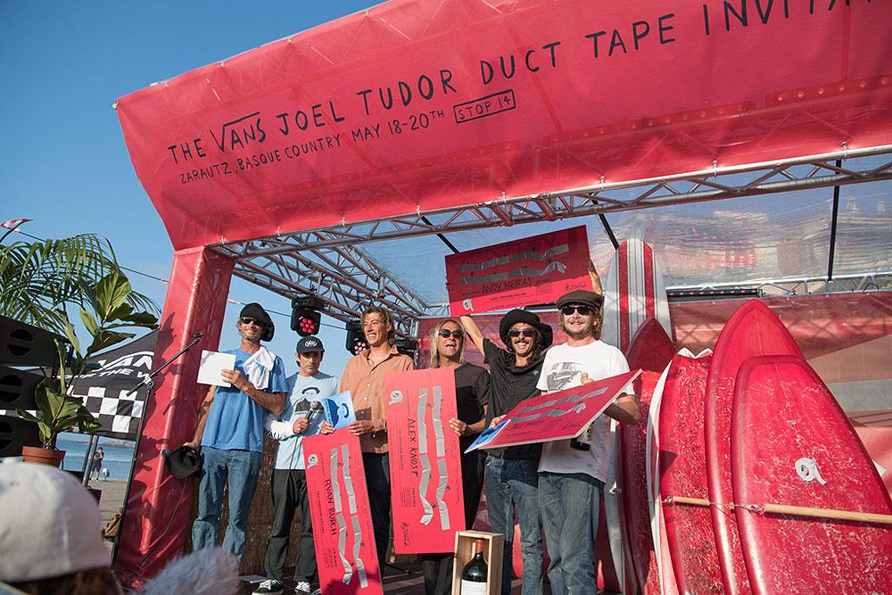 Duct Tape Invitational in Zarautz