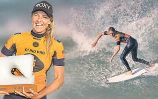 Stephanie Gilmore Wins Oi Rio Women's Pro