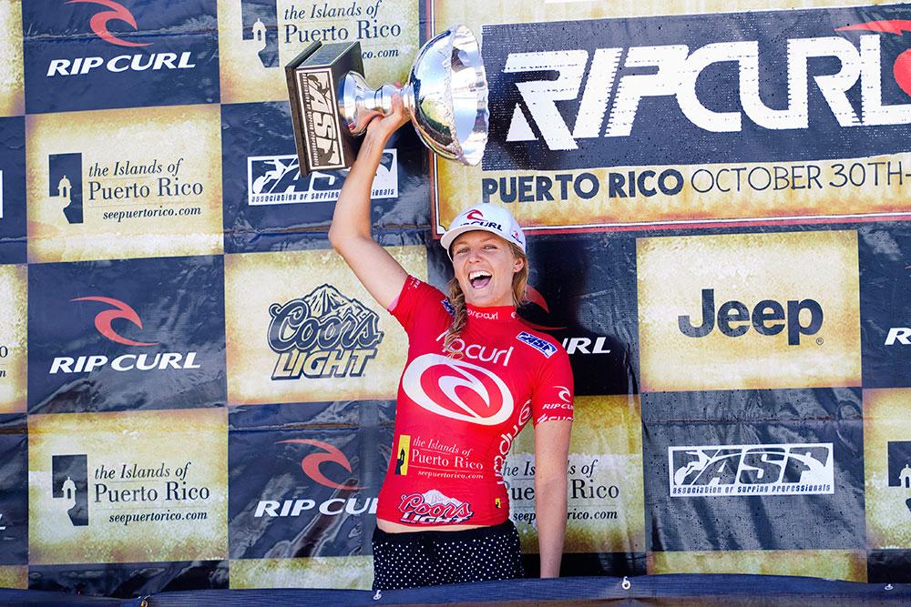 Stephanie Gilmore's fourth Surfing World Title