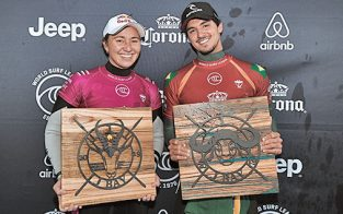 Moore and Medina winners at J-Bay