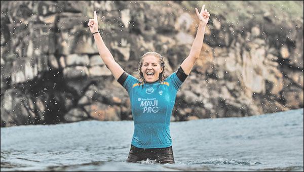 Stephanie Gilmore Wins lululemon Maui Pro